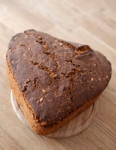 Brot in Herzform