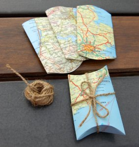 map-pillow