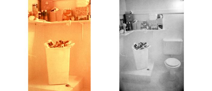 Menstruation Bathroom (c) Judy Chicago | via www.judychicago.com