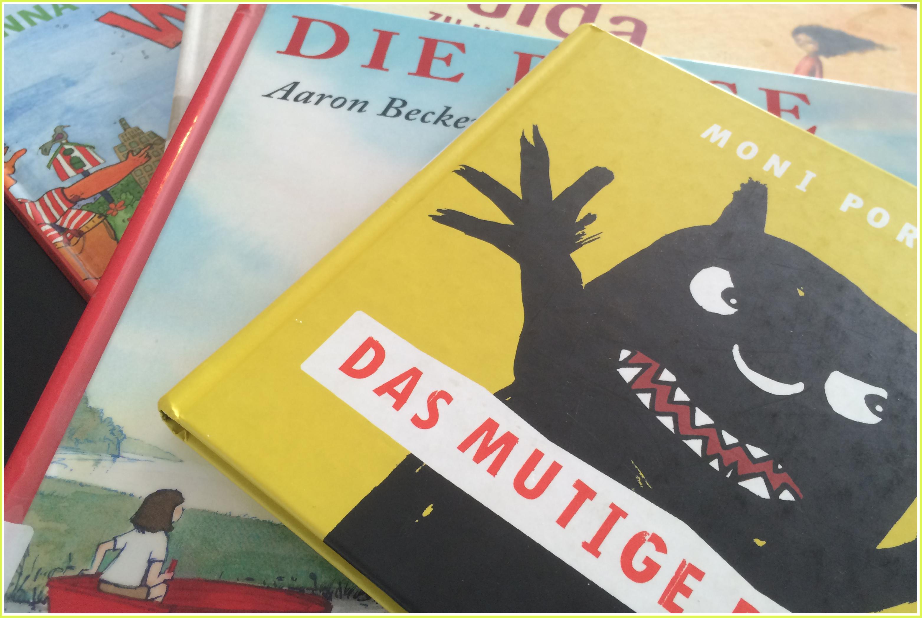 Sieben Kinderbücher für den Weg