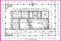 Grundriss eines Hauses